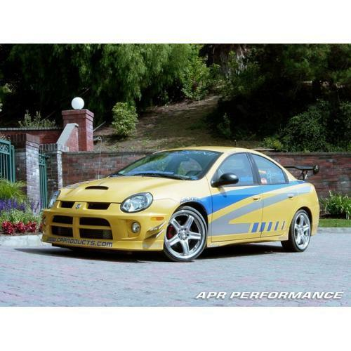 APR Performance Carbon Fiber Front Bumper Canards Set - Dodge Neon SRT-4 (2003-2005)