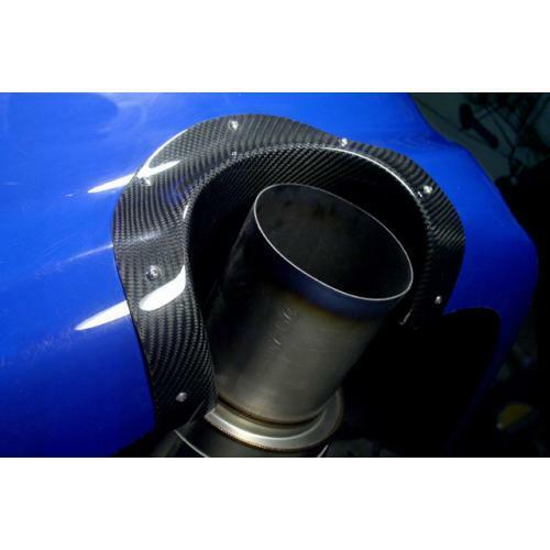 APR Performance Carbon Fiber Exhaust Heat Shield - Mitsubishi Lancer Evolution EVO 8 9 (2003-2007)