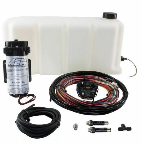 AEM V2 Water / Methanol Injection Kit 5 Gallon Tank w/ Internal Map Controller