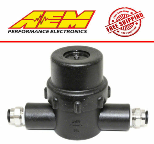 AEM Power Water / Methanol Inline Injection Filter Kit 1/4 NPT 150 PSi Max NEW