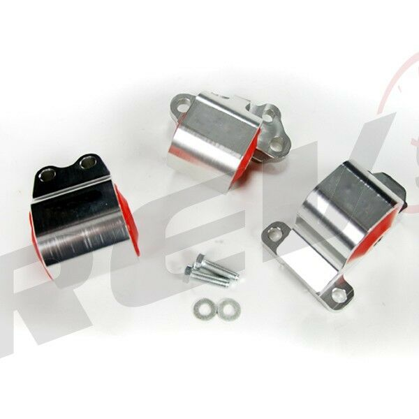 Rev9 Power Billet Aluminum Engine Motor Mounts Kit Civic 92-95 EG B & D Series