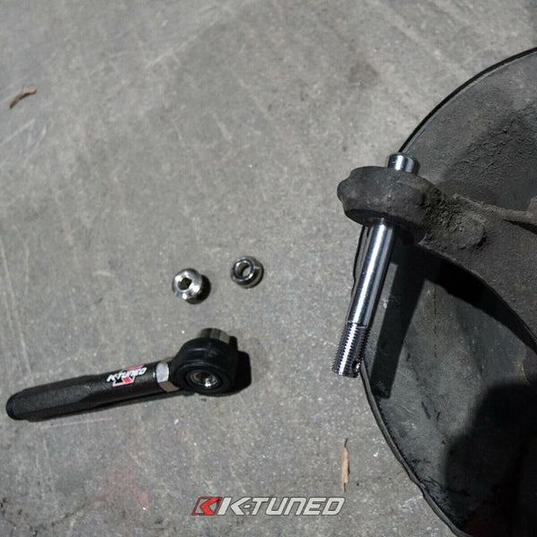 K-Tuned Adjustable Spherical Outer Tie Rod Ends - Honda S2000 S2K (2000-2009)