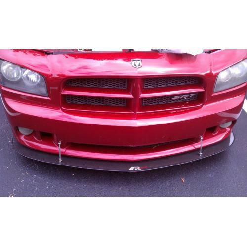 APR Performance Carbon Fiber Wind Front Splitter - Dodge Charger SRT-8 (2006-2010)