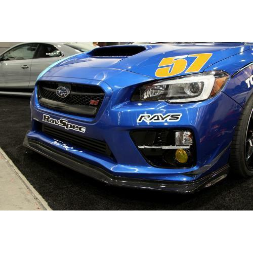 APR Performance Carbon Fiber Front Bumper Canards Pair - Subaru WRX & STi (2015-2017)