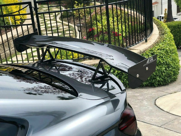"APR Performance Carbon Fiber GTC-200 60.5"" Adjustable Wing Spoiler UNIVERSAL New"