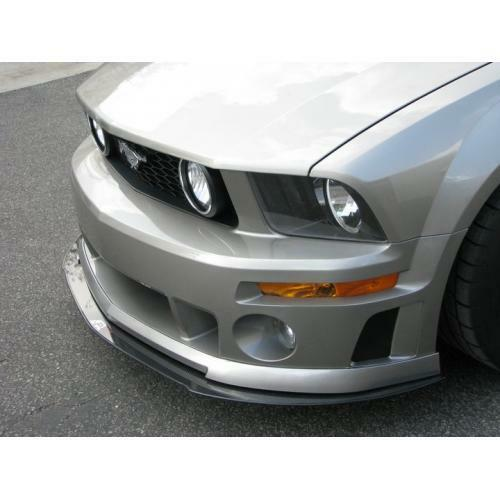 APR Performance Carbon Fiber Front Wind Splitter w/ Rods - Ford Mustang Roush (2005-2009)