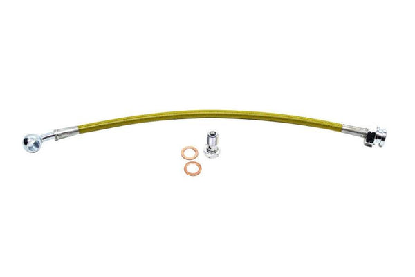 ISR Performance Shorty Stainless Steel Braided Clutch Line - Nissan 350z (2003-2006)