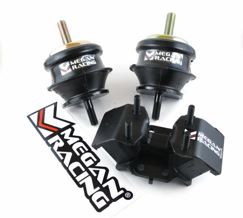 Megan Racing Reinforced Motor Mounts & Transmission Set - Lexus SC400 AT (1992-2000)
