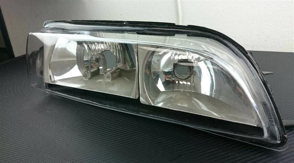 Phase 2 Motortrend (P2M) Clear Front Headlight Covers - Nissan 240sx S14 Zenki (1995-1996)