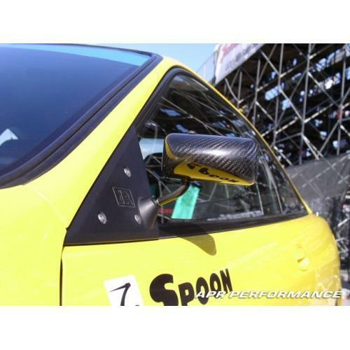 APR Performance Carbon Fiber Formula GT3 Mirrors - Acura Integra (1994-2001)