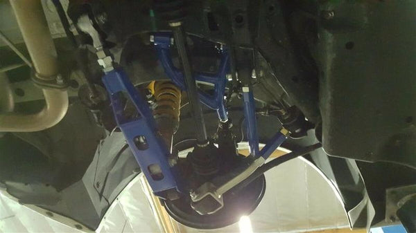 Phase 2 Motortrend (P2M) Adjustable Rear Toe Rods - Subaru BRZ (2012+)