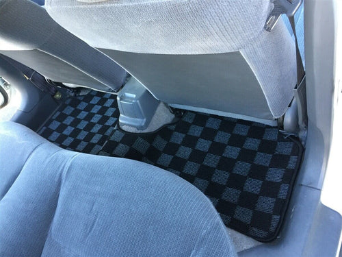 Phase 2 Motortrend (P2M) Race Carpet Floor Mats 3pc Set - Honda Civic EK9 Hatch & Sedan (1996-2000)
