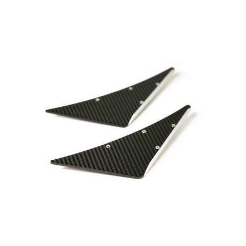 APR Performance Carbon Fiber Front Bumper Canards Pair Universal Type B New