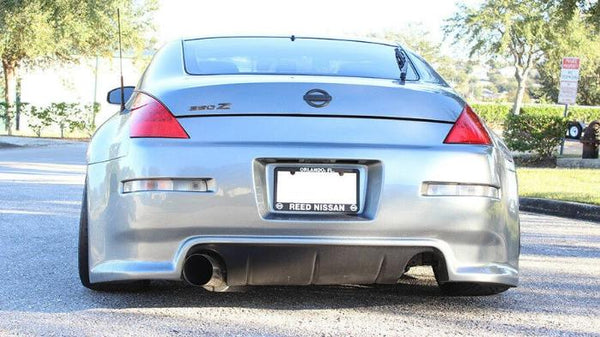 ISR Performance Stainless Steel Single Exit GT Exhaust System - Nissan Z33 350z (2003-2009)