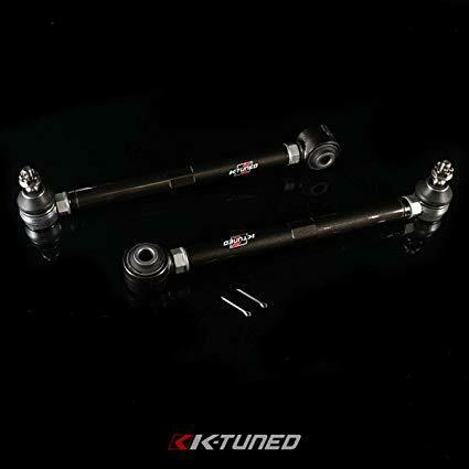 K-Tuned Adjustable Rear Toe Control Arms w/ Ball Joints - Honda S2000 S2K (2000-2009)