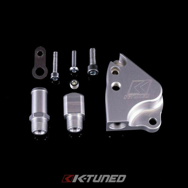 K-Tuned Intake Manifold Adapter Plate K24 Manifolds onto K24 Coolant Adapter New
