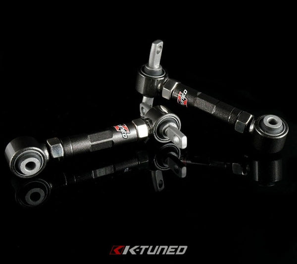 K-Tuned Adjustable Rear Camber Control Arms w/ Bushings - Honda Civic (1988-2000)
