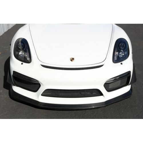 APR Performance Carbon Fiber Front Bumper Canards - Porsche Cayman GT4 981 (2015-2018)