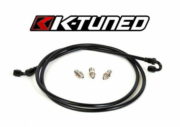 K-Tuned B Series Stainless Clutch Line Kit - Honda Civic EG EK (1992-2000)