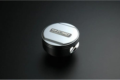Tomei Billet Aluminum Silver Oil Filler Cap Snap On Type - Mitsubishi