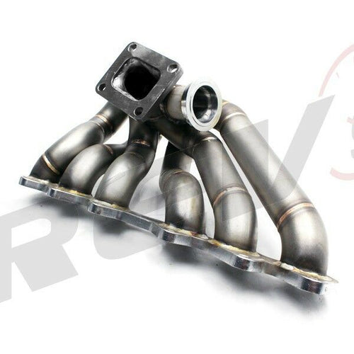REV9 Power HP Series Equal Length T4 Turbo Exhaust Manifold Header - Toyota Supra 2JZGTE