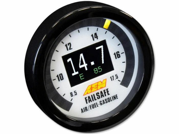 AEM Flex Fuel Failsafe Monitor AFR Wideband Ethanol Content Boost Gauge