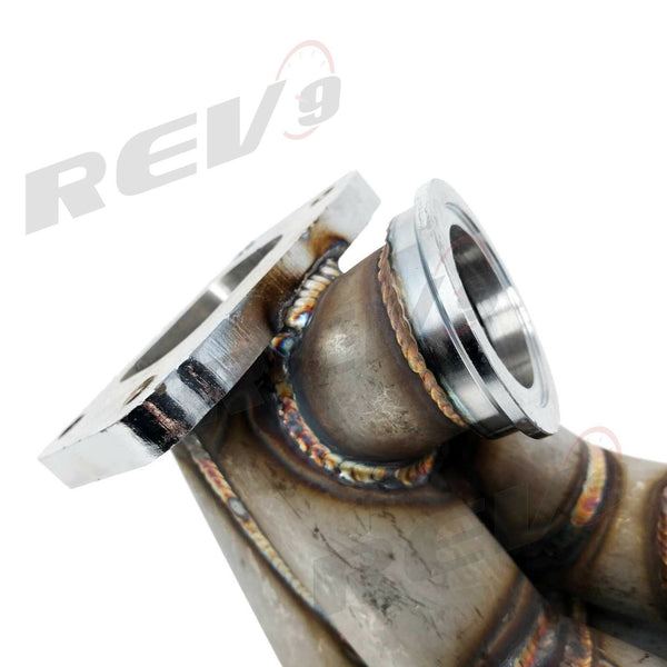 REV9 HP-Series Civic & RSX K20 Side Winder Equal Length T3 Flange Turbo Manifold