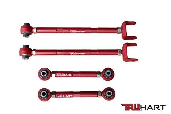 TruHart Adjustable Rear Camber & Toe Control Arms Kit Acura TL & TSX 09-13 New