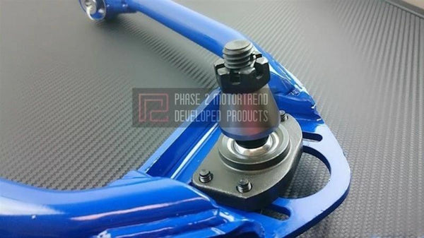 Phase 2 Motortrend (P2M) Adjustable Front Upper Camber Control Arms FUCA - Nissan 350z (2003-2009)
