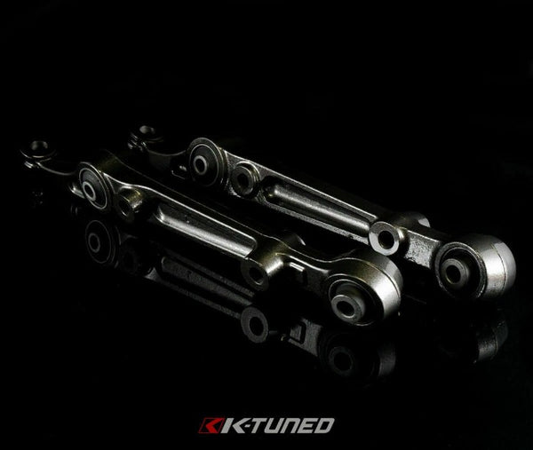 K-Tuned Front Adjustable Lower Control Arms w/ Spherical Bushings - Honda Civic EG (1992-1995)