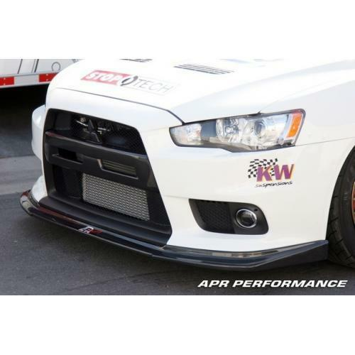 APR Performance Carbon Fiber Front Air Dam / Spoiler Lip Mitsubishi Evo 10 X 08+