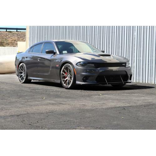 APR Performance Carbon Fiber Wind Splitter w/ Rods -Dodge Charger SRT-8 Scat Pack / Hell Cat (2015+)