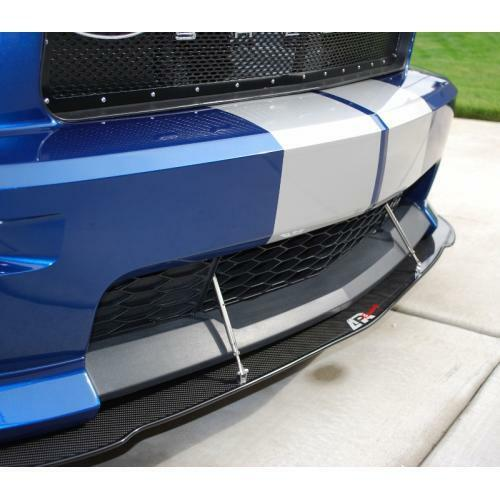 APR Performance Carbon Fiber Front Wind Splitter w/ Rods - Ford Mustang Shelby GT California Edition (2005-2009)