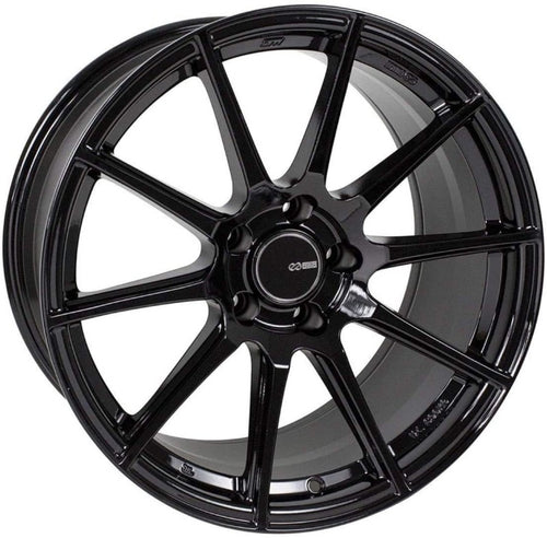 Enkei TS10 18x9.5 / 5x114.3 / 35mm Offset - Black Wheel