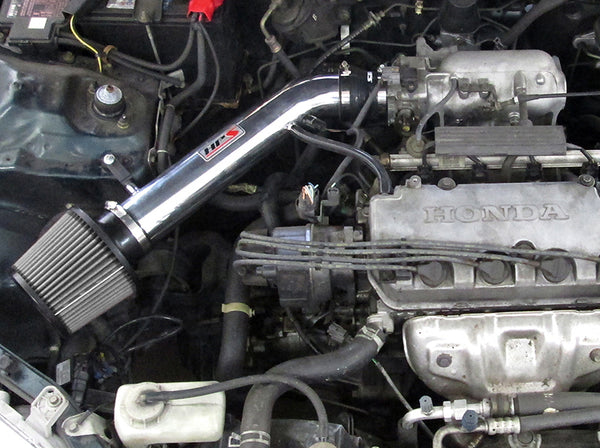 HPS Performance Shortram Cold Air Intake Kit Installed Honda 1996-2000 Civic EX HX Si 827-113