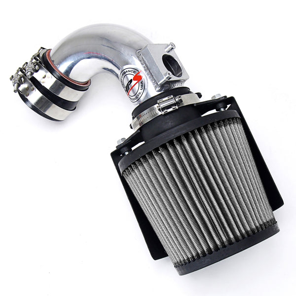 HPS Polish Shortram Cold Air Intake Kit Mazda 2006-2007 Mazda5 2.3L Non Turbo 827-165P