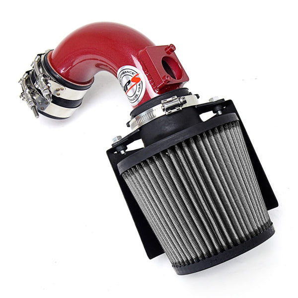 HPS Performance Shortram Air Intake Kit (Red) - Mazda Mazda3 2.0L / 2.3L Non Turbo (2003-2009) Includes Heat Shield