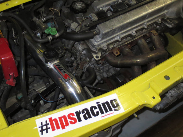 HPS Performance Shortram Cold Air Intake Kit Installed Toyota 2000-2005 MR2 Spyder 1.8L 827-509