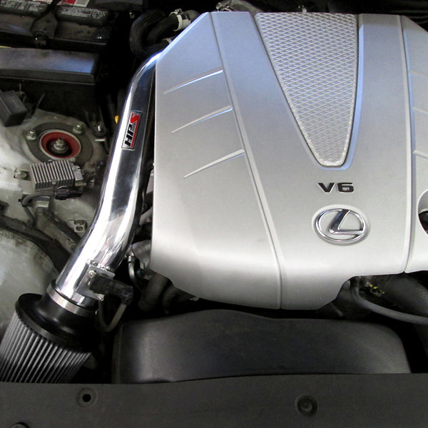HPS Performance Shortram Cold Air Intake Kit Installed Lexus 2006-2011 GS350 3.5L V6 827-511
