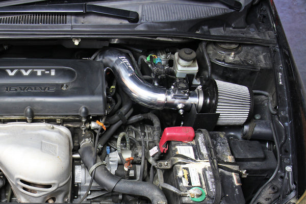 HPS Performance Shortram Cold Air Intake Kit Installed Scion 2005-2006 tC 2.4L 827-515