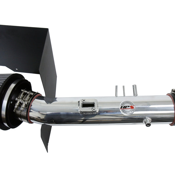 HPS Performance Shortram Air Intake Kit (Polish) - Toyota Tundra 4.7L V8 (2005-2006) Includes Heat Shield