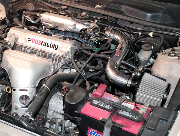 HPS Performance Shortram Cold Air Intake Kit Installed Toyota 1999-2001 Solara 2.2L 827-526