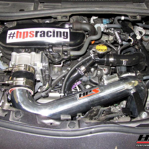 HPS Performance Shortram Cold Air Intake Kit Installed Scion 2012-2015 iQ 1.3L US-Spec 827-527
