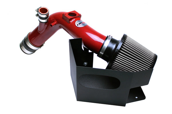 HPS Red Shortram Cold Air Intake Kit Mitsubishi 2008-2015 Lancer Evolution X 2.0L 827-535R