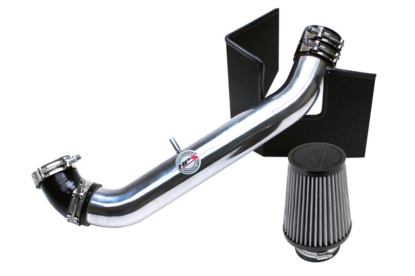 HPS Performance Shortram Air Intake Kit (Polish) - Mazda Miata 1.8L Non Turbo (1999-2005) Includes Heat Shield