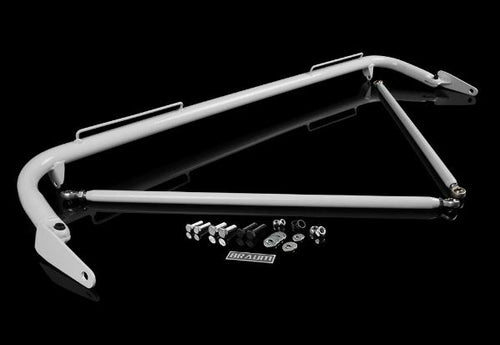"BRAUM Racing Universal Harness Bar Kit 48-51"" - White Gloss"