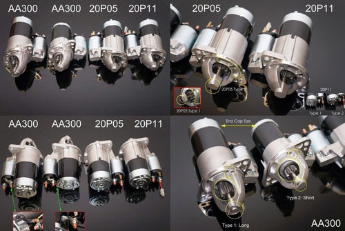 P2M Phase 2 RB Series Motor #20P112 Starter - Nissan Skyline GT-R GTS
