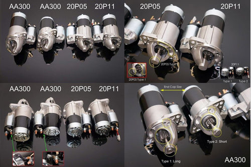 Phase 2 (P2M) OE Replacement Starter Motor - Nissan R33 R34 Skyline GT-R RB25 Neo ER34 GT-S