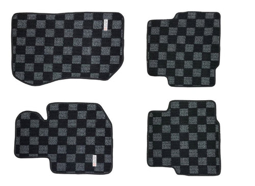 Phase 2 Motortrend (P2M) Dark Grey Carpet Floor Mats Front & Rear - BMW E36 3 Series & M3 2 Door (1990-1999)