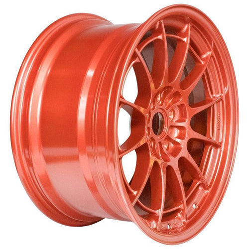 Enkei NT03+M 18x9.5 / 5x114.3 / 40mm Offset - Orange Wheel
